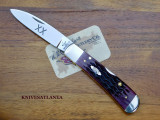 CASE Tribal Lock Knife 47522 Cabernet Bone
