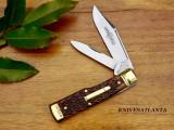 Great Eastern Cutlery Buffalo Jack # 44 Autumn Gold Jigged Bone