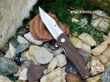Buck 841 Sprint Pro Brown Burlap