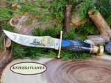 Case Buffalo Horn Kodiak Hunter® with Leather Sheath