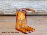 Edwin Jagger Tortoiseshell Brush Drip Stand (Small)