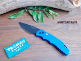 "Pro-Tech TR-4.3 Tactical Response 4 Automatic Knife Blue (4"" Black)"