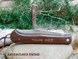 VALOR 007 FOLDING KNIFE   VINTAGE 1970`s