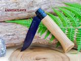 Opinel No.08 Black Oak Folding Knife