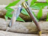 Laguiole Durand Snakewood, Brass ,10cm
