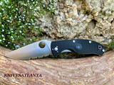 Spyderco Lightweight Tenacious Folding Knife  C122PBK