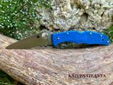 Spyderco Endura - Blue - Lockback- C10FPBL