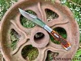 Ruple Moki OSKW Custom Folder- Mahogany Bone 1 of 125