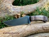 Winkler Knives    Belt Knife   Tribal  Maple