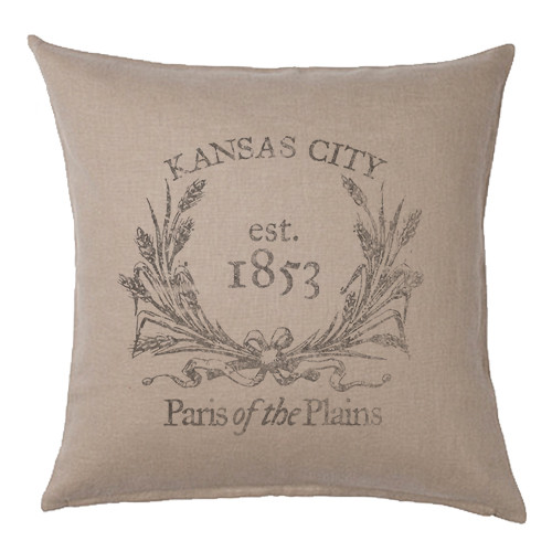 PILLOW COVER | PARIS OF THE PLAINS
