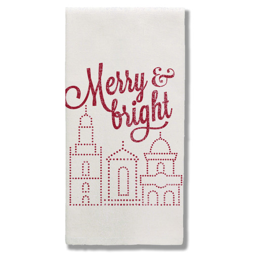 TOWEL | MERRY & BRIGHT