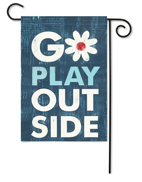 GARDEN FLAG | GO PLAY OUTSIDE
