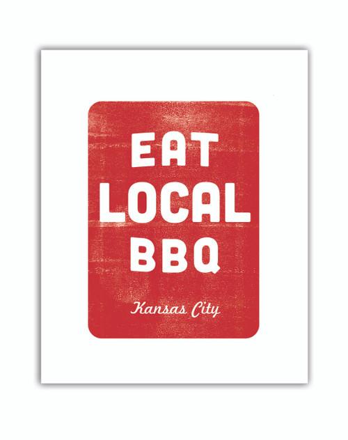 PRINT | EAT LOCAL BBQ