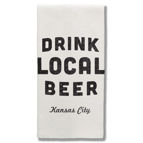 TOWEL | DRINK LOCAL BEER: KANSAS CITY