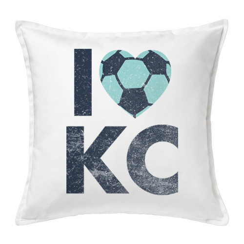 PILLOW COVER | LOVE KC SOCCER