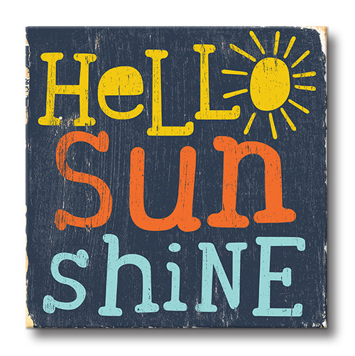 MINI SIGN | HELLO SUNSHINE
