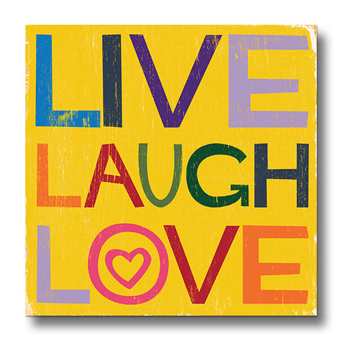 MINI SIGN | LIVE LAUGH LOVE