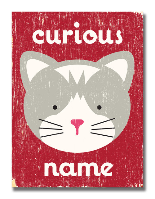 SIGN | CURIOUS CAT