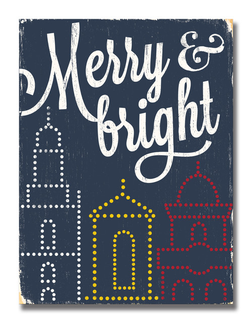 SIGN | MERRY & BRIGHT