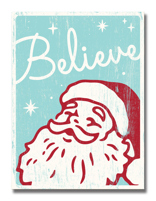 SIGN | BELIEVE IN SANTA