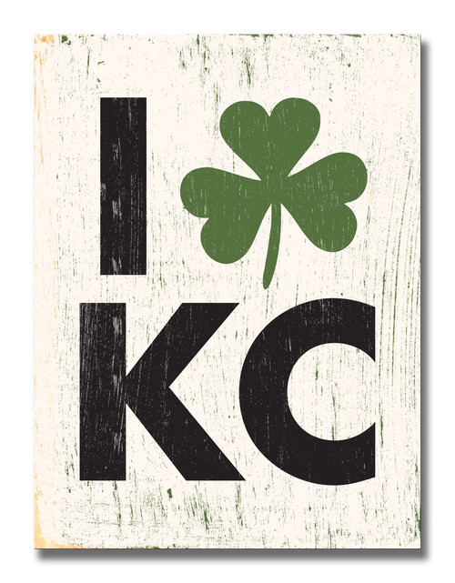 SIGN | I SHAMROCK KC