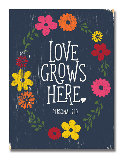 SIGN | LOVE GROWS