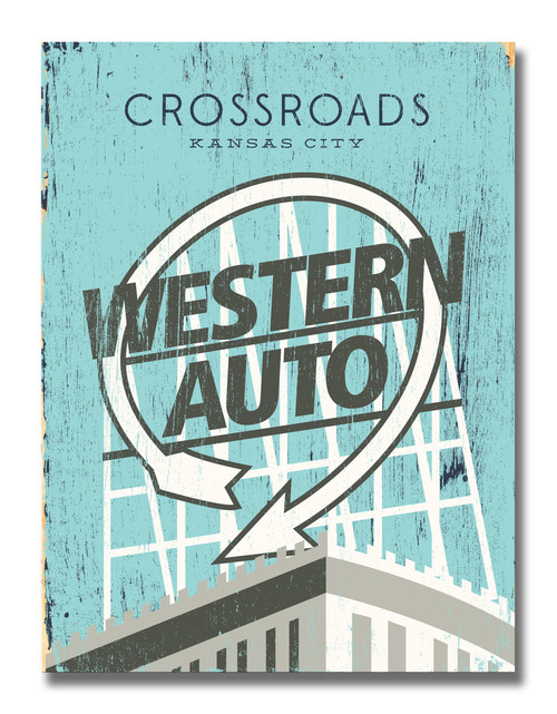 SIGN | WESTERN AUTO LANDMARK