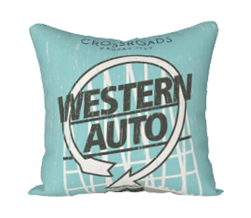 PILLOW COVER | CROSSROADS