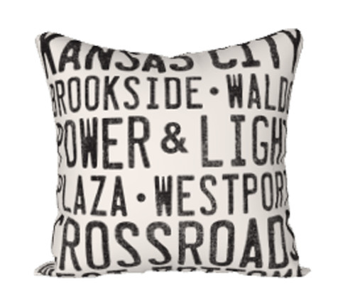 PILLOW COVER   KC AREAS