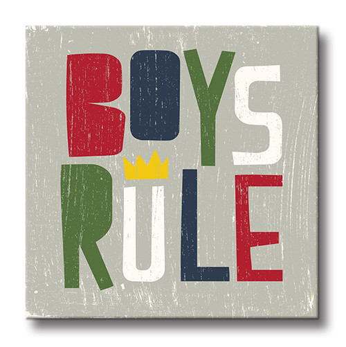 MINI SIGN | BOYS RULE