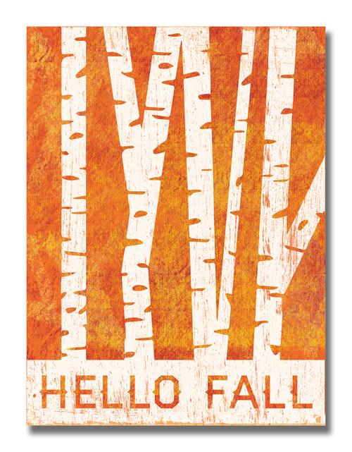 SIGN | HELLO FALL