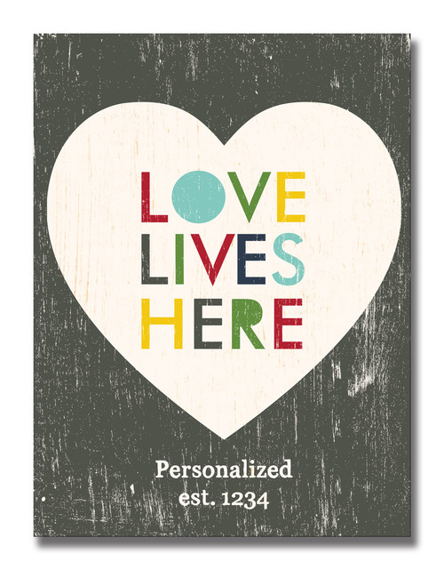 SIGN | LOVE LIVES HERE