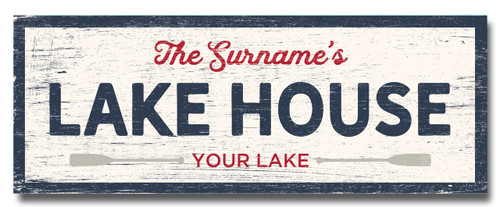 SIGN | YOUR LAKE HOUSE