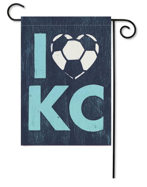 GARDEN FLAG | LOVE KC SOCCER