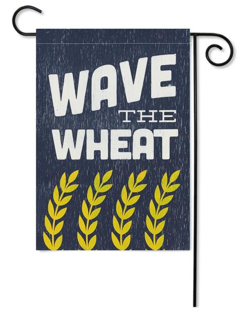 GARDEN FLAG | WAVE THE WHEAT