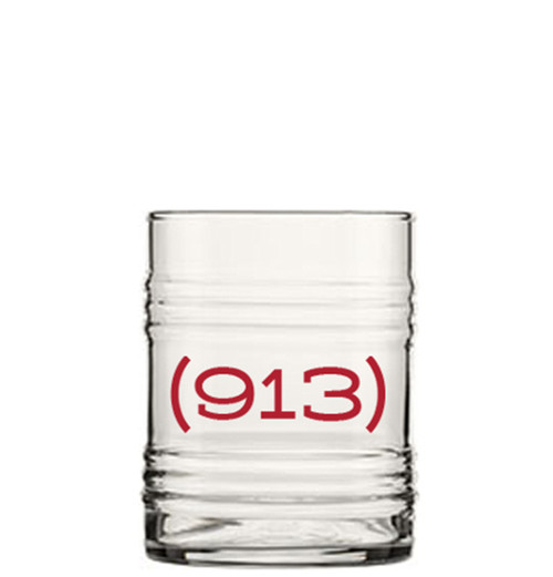 GLASSWARE | AREA CODE (913) TIN CAN