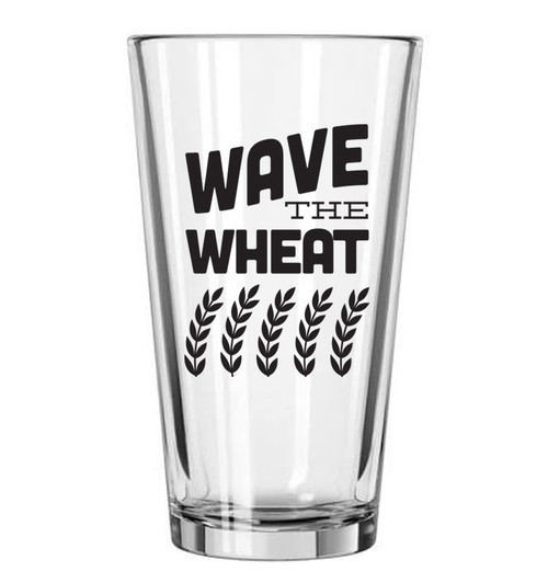 GLASSWARE | WAVE THE WHEAT PINT