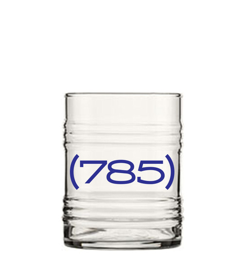 GLASSWARE | AREA CODE (785) TIN CAN