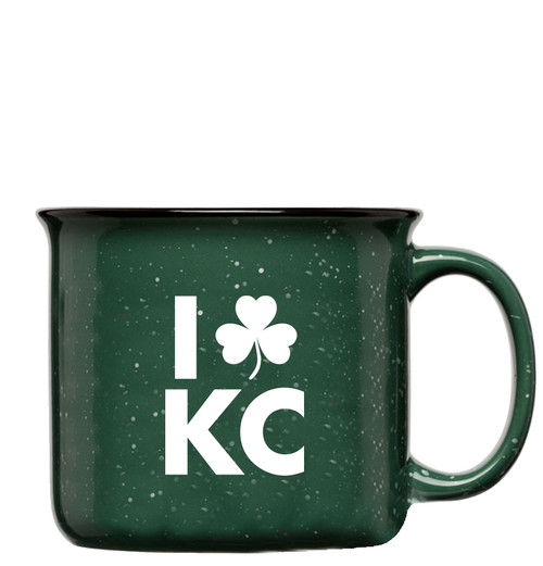 GLASSWARE | LOVE KC IRISH MUG