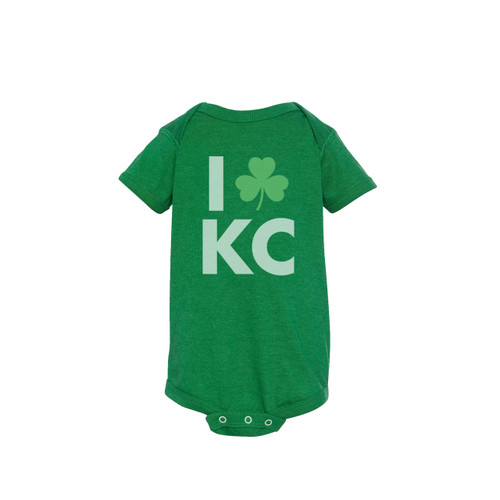 APPAREL | LOVE KC IRISH ONESIE