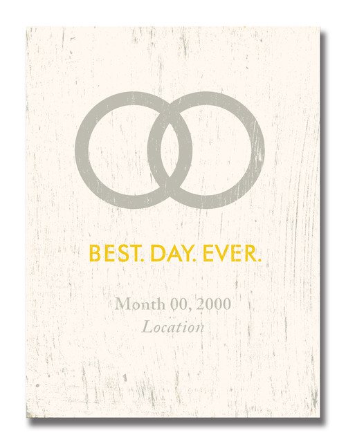 SIGN | BEST.DAY.EVER (WEDDING)