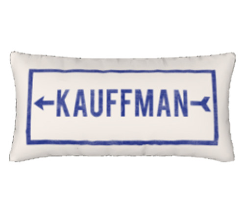 PILLOW COVER | KAUFFMAN