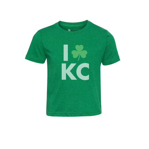 APPAREL | LOVE KC IRISH KID TEE