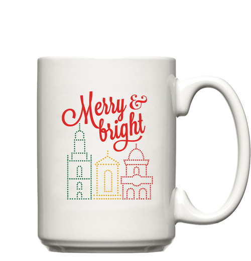 GLASSWARE | MERRY & BRIGHT MUG
