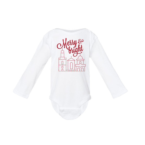 APPAREL | MERRY & BRIGHT ONESIE
