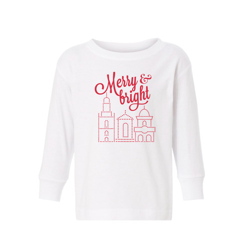 APPAREL | MERRY & BRIGHT TODDLER TEE