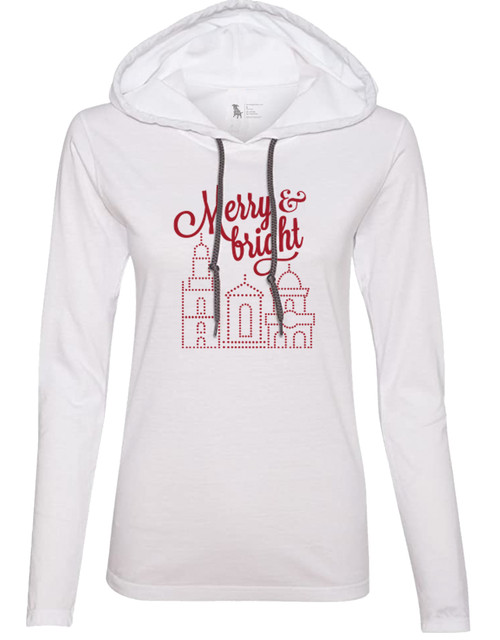 APPAREL | MERRY & BRIGHT ADULT HOODIE