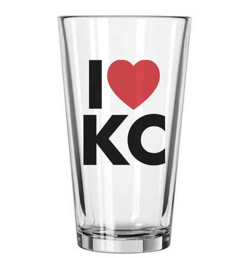 GLASSWARE | LOVE KC PINT