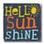 MINI SIGN | HELLO SUNSHINE
