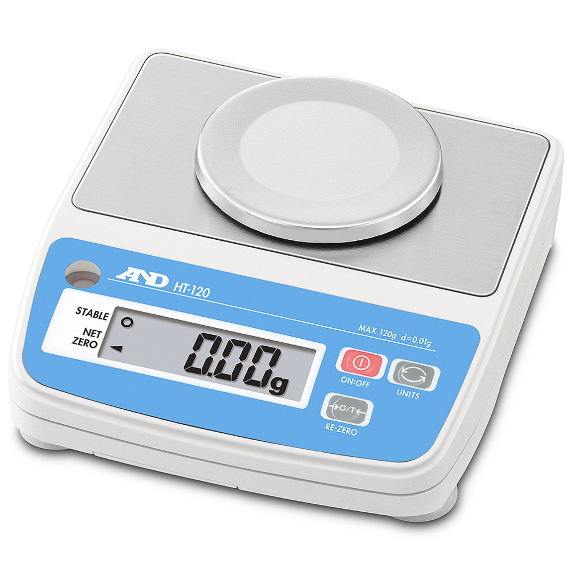 A&D HT-120 0.01g Digital Scales
